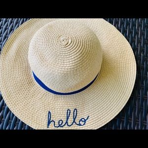 Hello Hat Summer Beach 2-4 Years Old